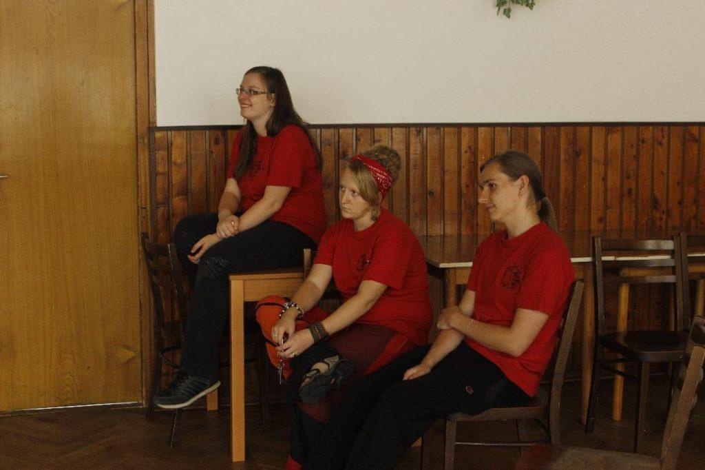 Slavnostní zahájení klubu stolníche her