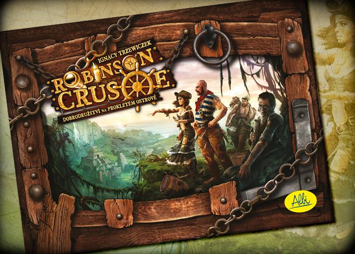 Robinson Crusoe stolní hra