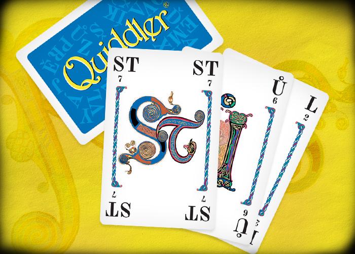 Quiddler karetní hra