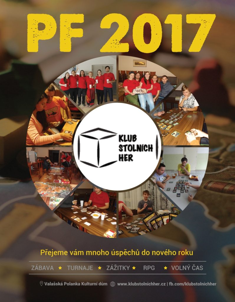 Klub stolních her PF 2017