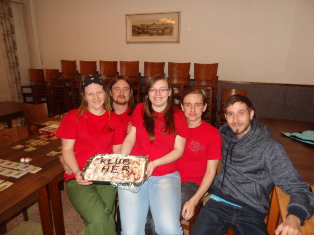 Vánoční večírek s deskohraním - Společné focení