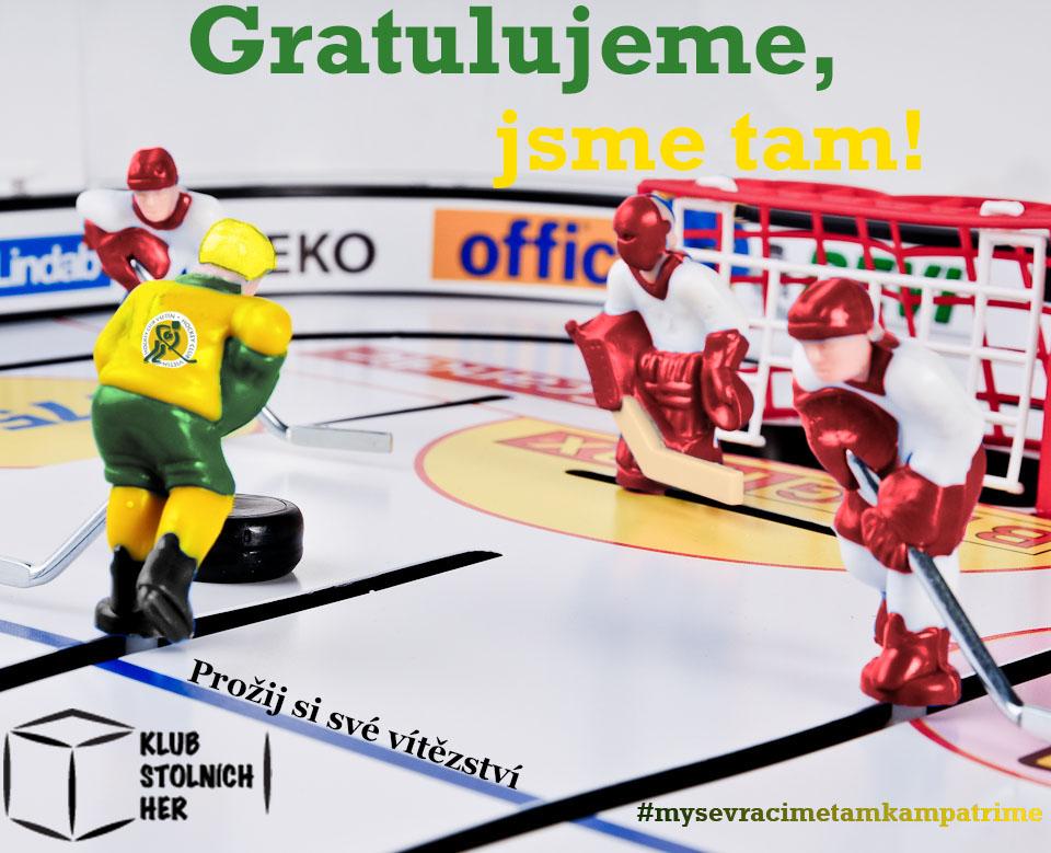 Velikonoční deskohraní hokej