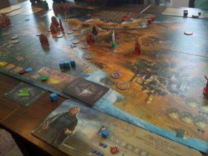 Rozehraná hra Andor